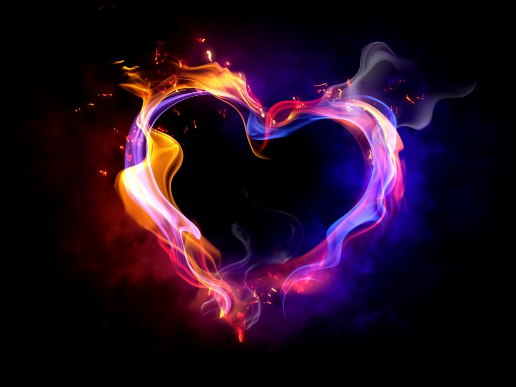 3D-Fire-Heart-black-wide-walls