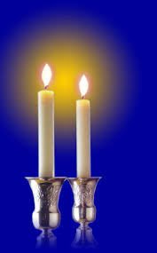 shabbos candles 1