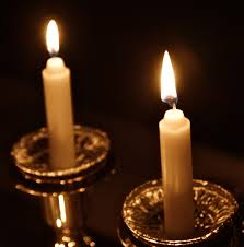 shabbos candles 6