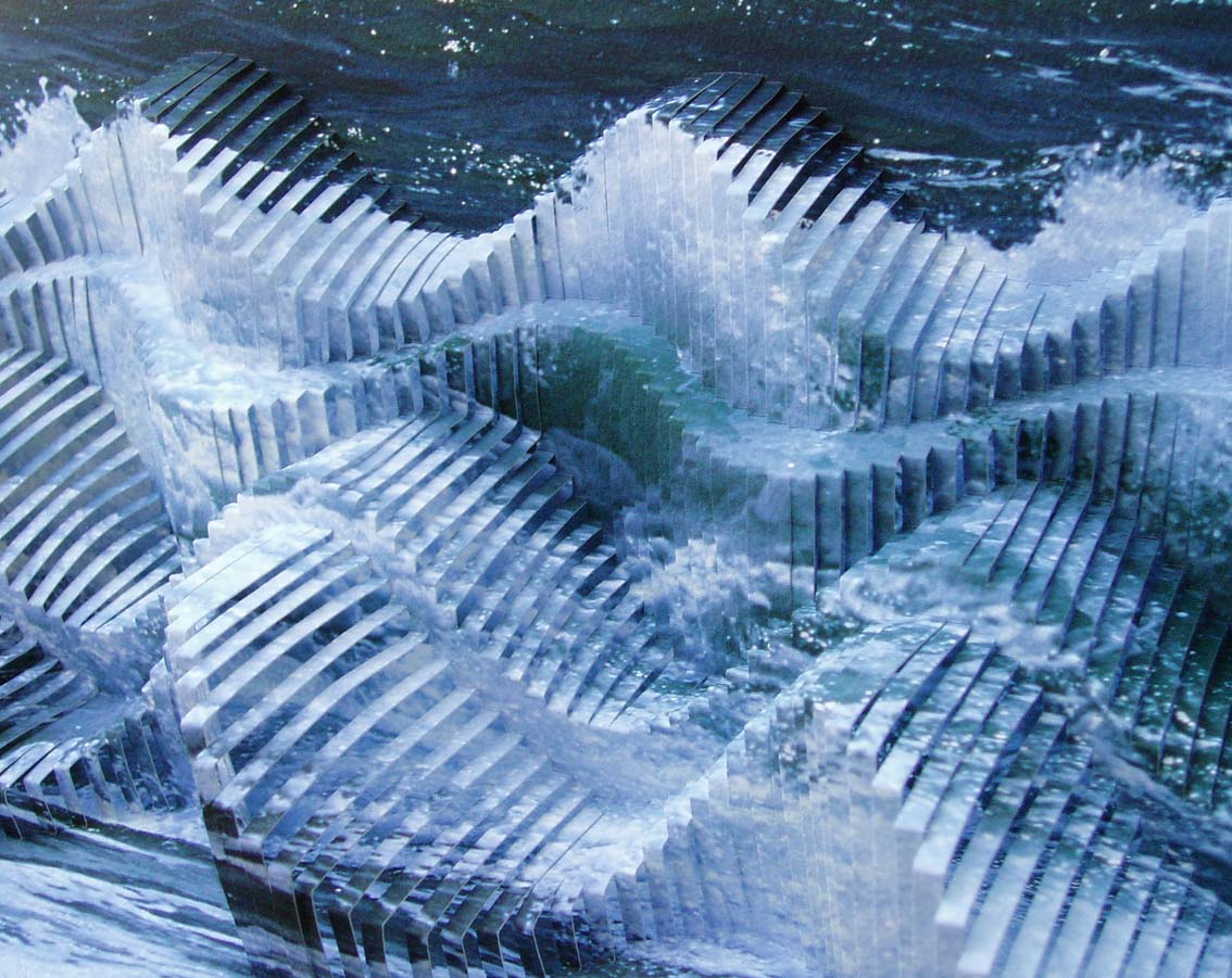 Jennie Nayton, Triple Helix (detail) 2005
